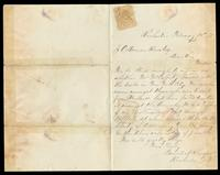 Letter from Daniel A. Sharpe to Jeremiah O'Donovan Rossa, February 13, 1871