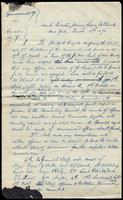 Letter from D.F. Burke and Piero J. Butler, March 13, 1870