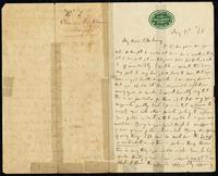 Letter from Charles Joseph Kickham to John O'Mahony, May 10, 1865