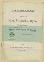 Help the Men in the Gap' written by Michael J. Ryan, March 4, 1906