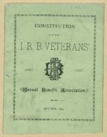 Constitution of the IRB Veterans, 1867-1887