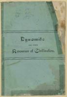 Dynamite Against Gladstone's Resources of Civilization' written by Prof. Mezzeroff, n.d.