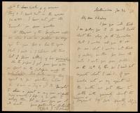 Letter from Charles Joseph Kickham to John O'Mahony, January 24, 1870