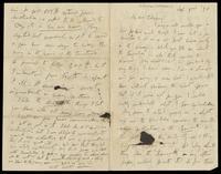 Letter from Charles Joseph Kickham to John O'Mahony, February 3, 1870