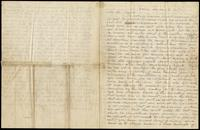 "Letter from ""K"" to an unnamed General, March 15, 1867"