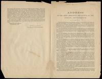 Address of the Chief Executive and Council of the Fenian Brotherhood by John Savage, November 10, 1869