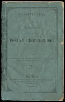 Constitution and bylaws of the Fenian Brotherhood : as adopted at the Twelfth General Convention, held in the city of New York, August, 1873