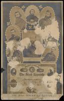 A postcard entitled The Irish Fenian Executive from Michael Moroney to Jeremiah O'Donovan Rossa, April 22, 1909