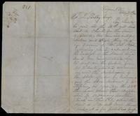 Letter from Edward J. Comerford to T.J. Kelly, August 27, 1866