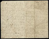Letter from Chas Ring to John O'Mahony, April 16, 1865