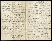 Letter from Charles Joseph Kickham to John O'Mahony, January 18, 1864