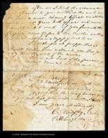 Letter from C. Murphy to John O'Mahony, November 19, 1864