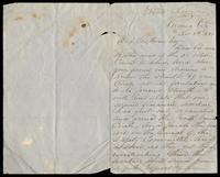 Letter from Edward J. Comerford to D. O'Sullivan, November 8, 1866