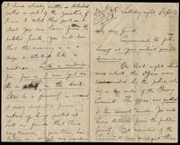 "Letter from J. Daly (James Stephens) to ""My Dear Friend"", September 16, no year."