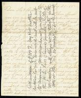 Letter from A.L. Morrison to John O'Mahony, August 21,1865
