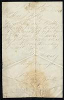 Letter from Hugh Cunningham to T.J. Kelly, December 30, 1867