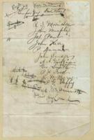 list of 'temporary directors' of United Irishman, n.d.