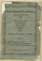 Irish Industrial Exhibition: 1904 World's Fair; handbook and catalog of exhibits, 1904