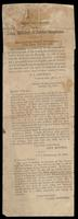 """Clipping entitled """"Important Letters from John Mitchel and James Stephens"""" with introduction by P.J. Downing dated February 20, 1866"""