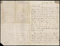 Letter from Charles U. O'Connell to John O'Mahony, May 1, 1862