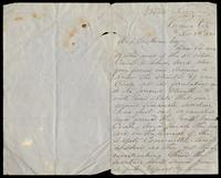 Letter from Edward J. Comerford to D. O'Sullivan, November 8, 1866