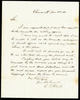 Letter from E.L. Patrick to John O'Mahony, January 10, 1866