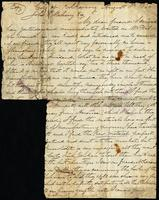 Letter from E. Bourke to John O'Mahony August 8, 1860