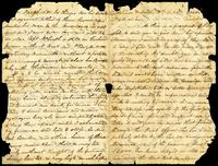 "Letter from ""H"" (William G. Halpin) to John O'Mahony, October 6, 1865"