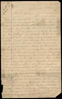 Letter from Daniel M. McCarthy to John Savage, October 5, 1870