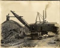 Beech Flats Coal Company, steam shovel