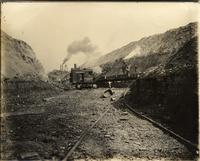 Beech Flats Coal Company, Steam shovel strip mining