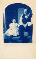 John Mitchell and an unidentified child