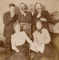 Group picture including E.C. Morris