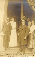 Group picture including John Mitchell and E.C. Morris