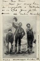 Boys at work in a Scranton, Pennsylvania coal mine
