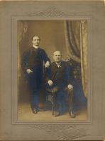 John Mitchell Pictured with John Fallou