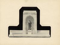 John Mitchell monument dedication: Invitation and program