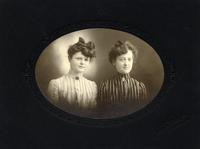 Portrait of Belle and Ada Smith