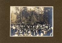 Unidentified crowd