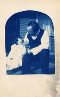 John Mitchell and unidentified baby girl (1)