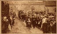 Unidentified funeral procession