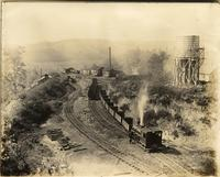 Beech Flats Coal Company, Shunting of coal cars