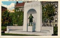John Mitchell monument in Scranton, Pennsylvania