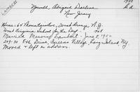 Gallaudet University Alumni Cards, 1866-1964