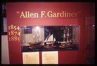 """""""Allen F. Gardiner"""" display in Ushuaia Navy Museum"""