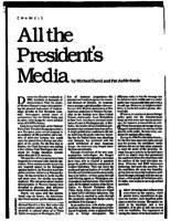 All the President's Media