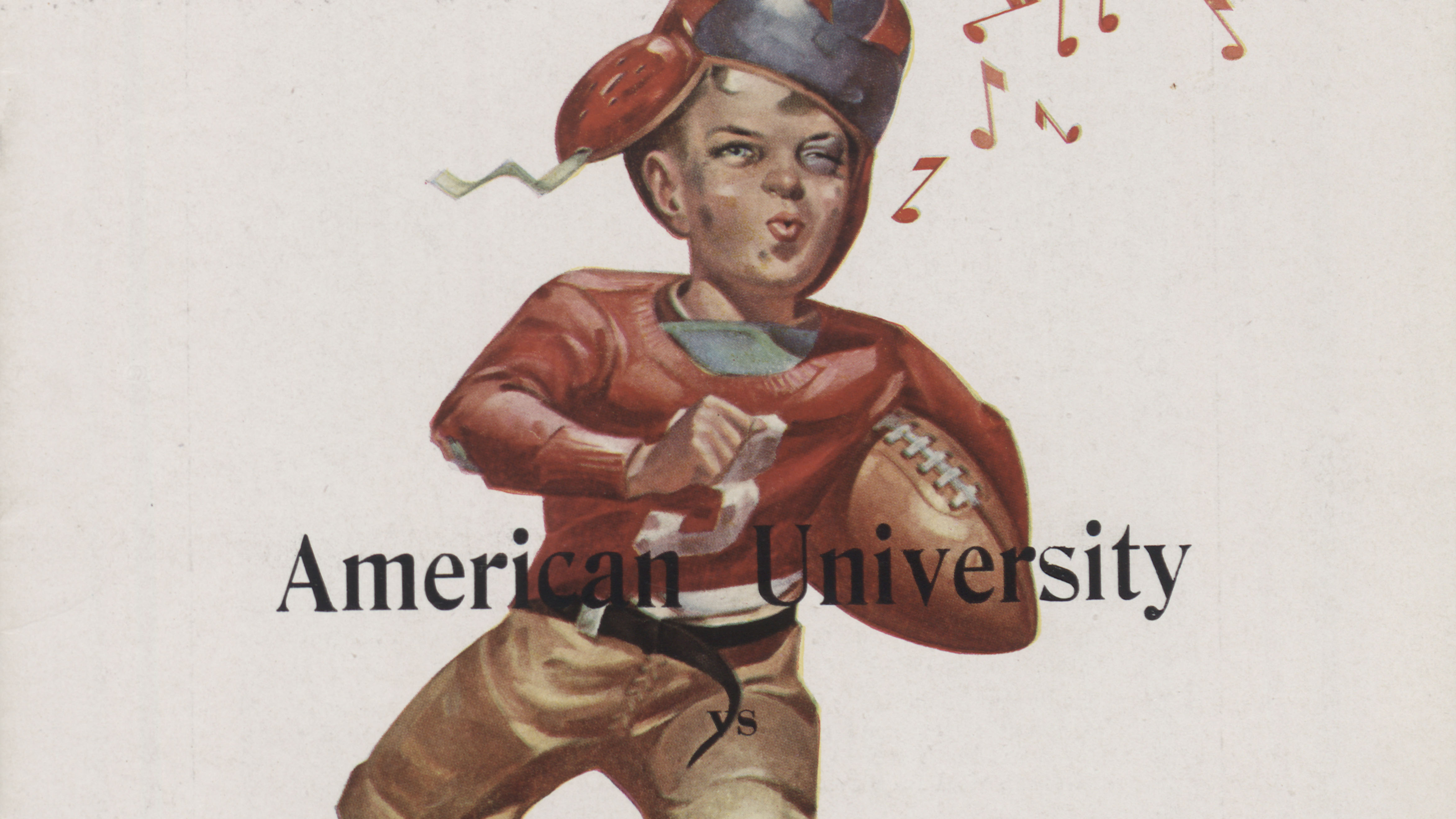 American University Football  Programs