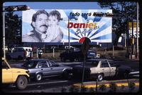"""Everything Will be Better"" re-election billboard for Daniel Ortega and the Sandinista party, Nicaragua"