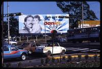 """Everything Will be Better"" re-election billboard for Daniel Ortega, Nicaragua"