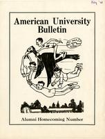 American Alumni Bulletin, Volume 13, Issue 10, July 1938